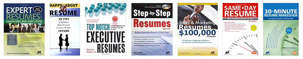 Abby Locke's resume samples have been featured in many books