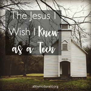 To My Younger Self: The Jesus I Wish You Knew {Book Review & Giveaway}