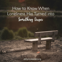 Signs that Loneliness Has Turned to Despair