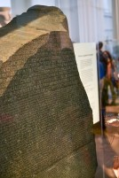 The famous Rosetta Stone.