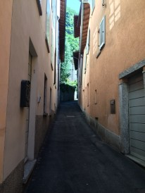 A street to Brunate