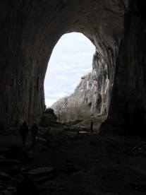 Another entrance of cave