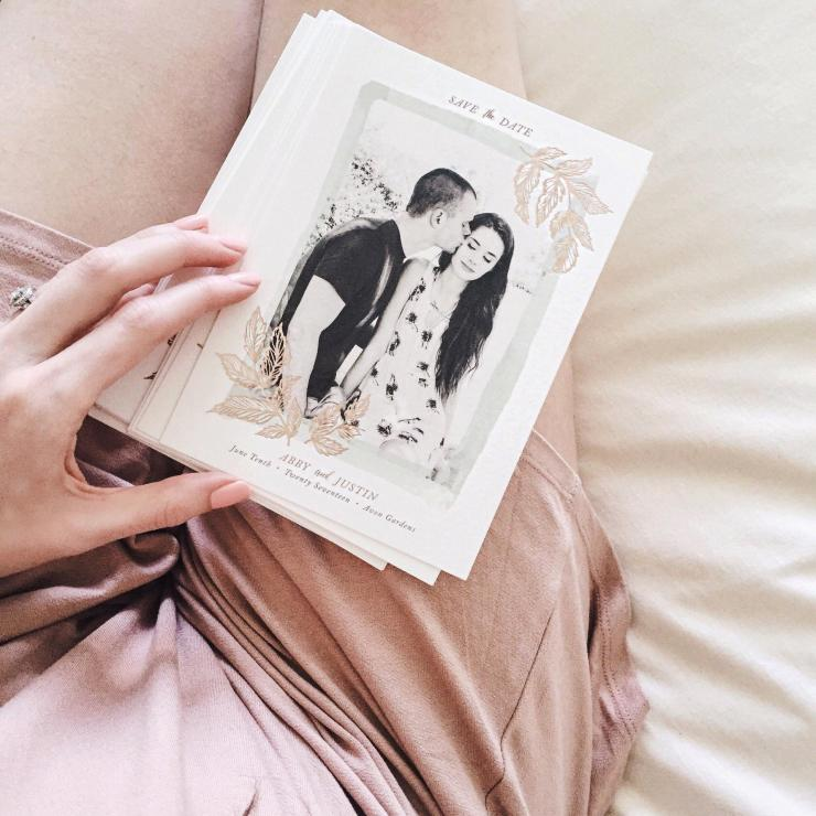 minted save the date review