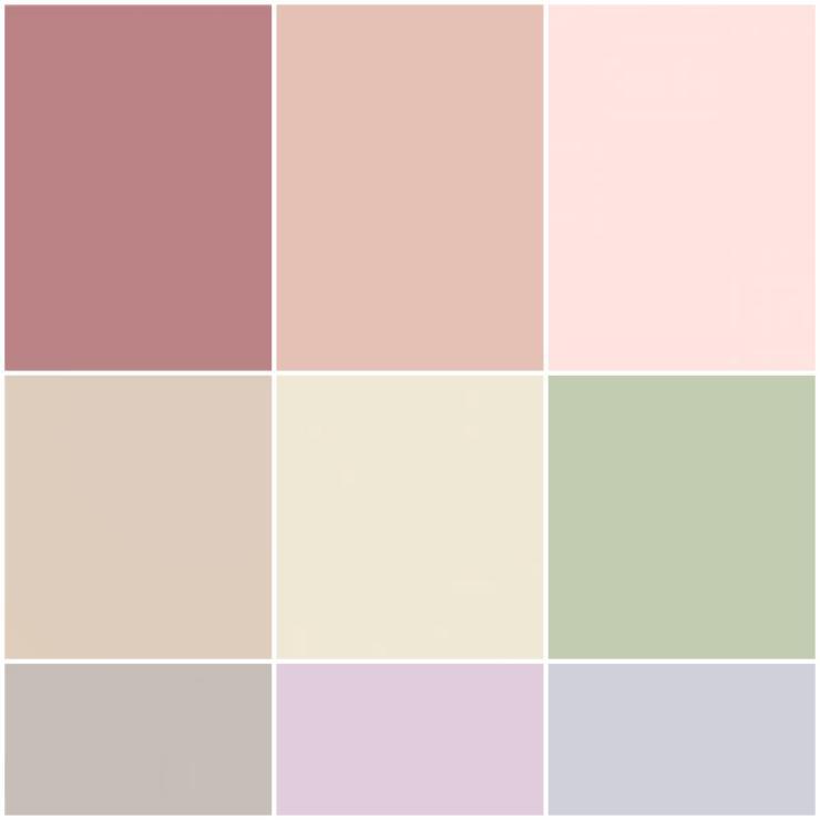 boho wedding color scheme