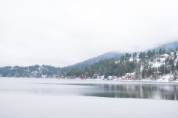 hdr lake and mountains-1
