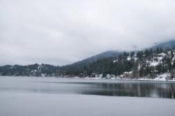 hdr lake and mountains-2