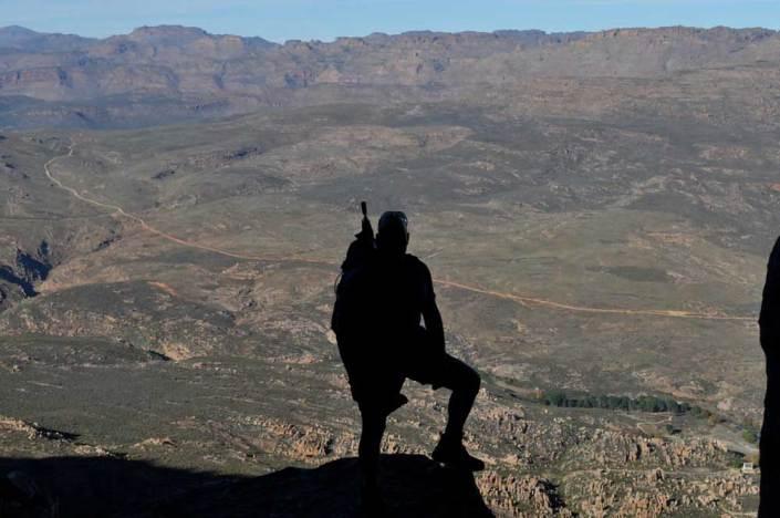 ABC bike and hike challenge - Mountain views