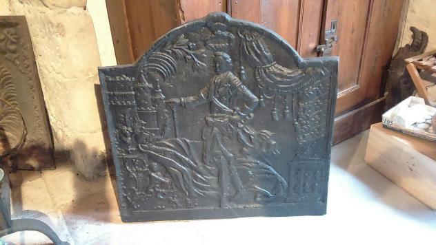 Plaque de cheminée (68 x 68 cm et 40 kg)