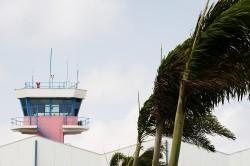 Flamingo Airport Bonaire (BON) Niederländische Antillen