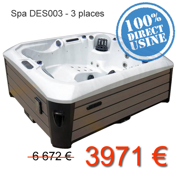 Spa Design Promo 3 places
