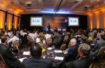 Cláudio Stábile, Presidente da SANEPAR durante Paraná Day, evento realizado em Curitiba com a presença de mais de 100 investidores do País e do exterior. Foto: Geraldo Bubniak/ANPr