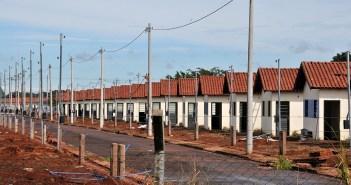 Obras de Residencial Rui Pimental ficou travados há mais de seis meses - Foto: Valdenir Rezende/Correio do Estado