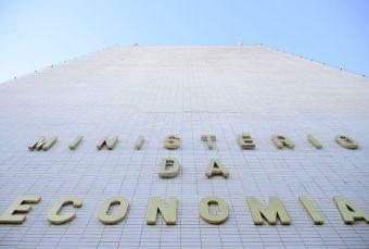 Fachada do Ministério da economia na Esplanada dos Ministérios. Foto: Marcello Casal Jr/ Agência Brasil