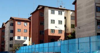 Prédios para moradores de baixa renda do Conjunto Habitacional Cingabur. Foto: Marcelo Camargo/Agência Brasil