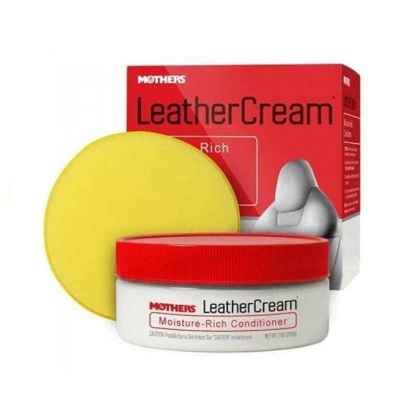 Mothers Leather Cream 200ml – konserwacja tapicerek skórzanych.