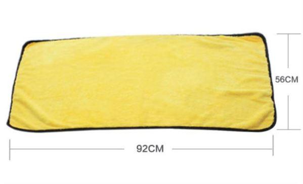 Bardzo chłonny ręcznik z mikrofibry do osuszania i pielęgnacji samochodu