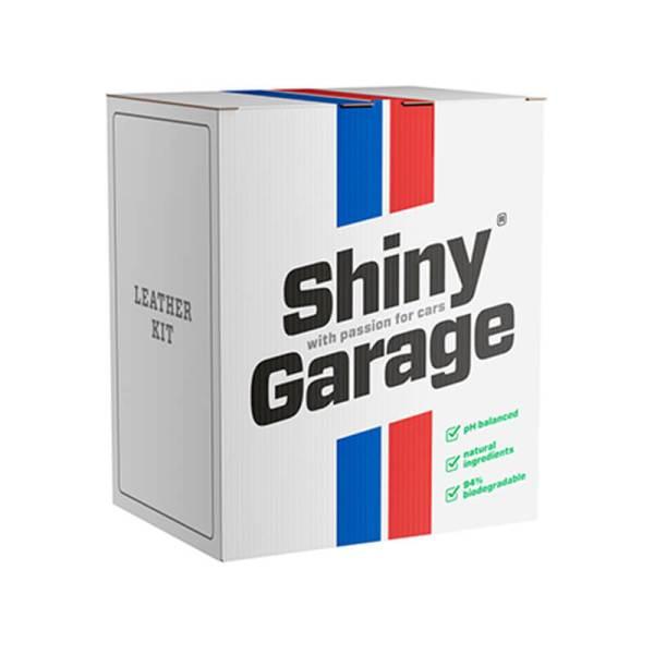 Shiny Garage Leather Kit Soft – zestaw do czyszczenia skórzanej tapicerki
