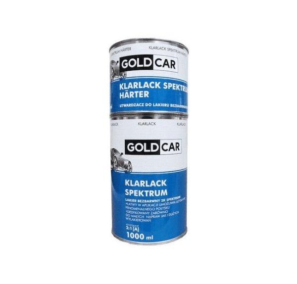 GOLDCAR  Lakier bezbarwny Spektrum 2K 2:1 kpl. 1,5L