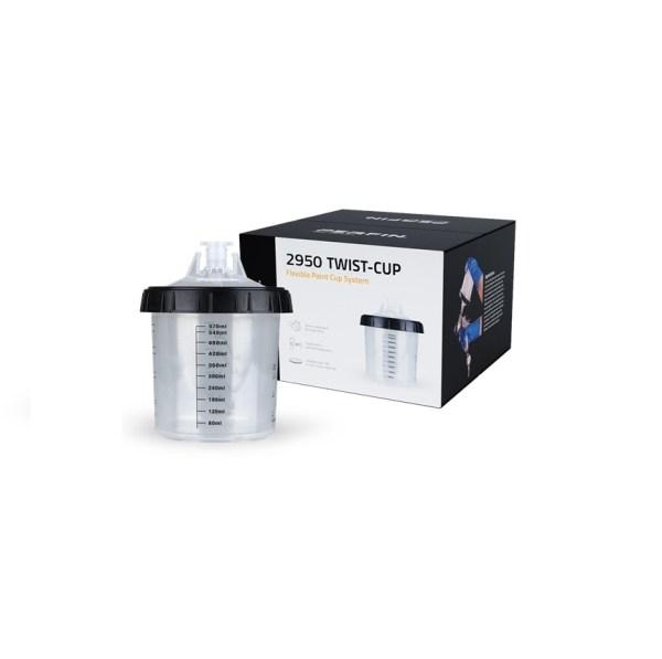 Kubki Lakiernicze SILCO Twist Cup 600 ml 190µ zestaw 50 szt.