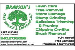 Branson's Tree Service