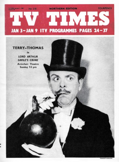 Terry-Thomas in Lord Arthur Savile's Crime