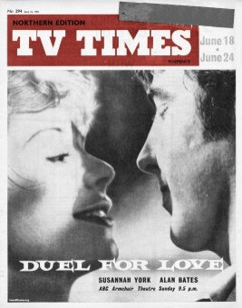 Susannah York and Alan Bates in Duel for Love