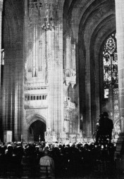 ABC cameras in Liverpool's Anglican cathedral