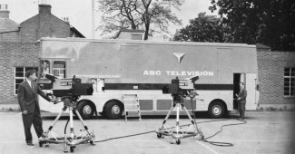 An ABC Outside Broadcast unit, used to transmit the Morning Service on Sundays