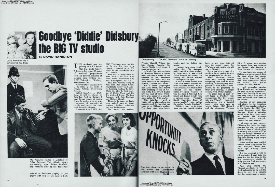 Goodbye Didsbury