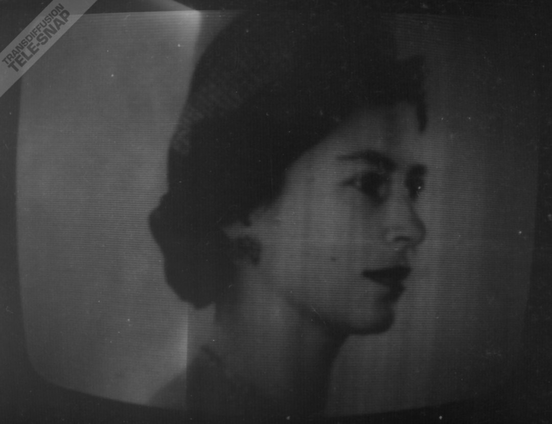 HM Queen Elizabeth II still, the final image shown on ABC in the North.