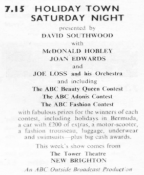 TVTimes for the Midlands, w/c 29 June 1957