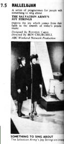 TVWorld w/c 16 January 1966