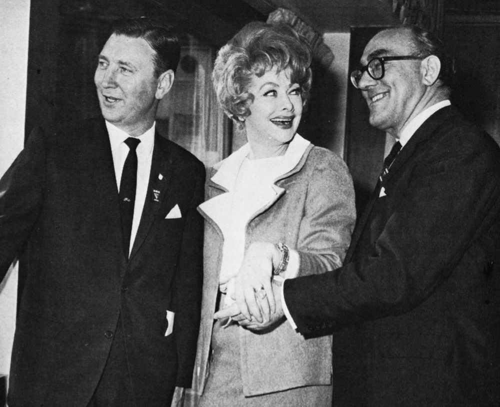 Bob Norris, Lucille Ball, Howard Thomas