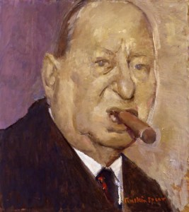 Lew Grade, Baron Grade by Ruskin Spear, 1988