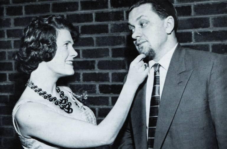 JOHN RANSON, CAR Lines Engineer, Didsbury, with wife Myra