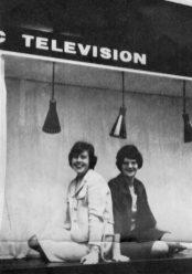SANDRA GLEDSTONE, OB Production Assistant, and ANN LOFTUS, David Southwood's secretary, Didsbury/Mount Street