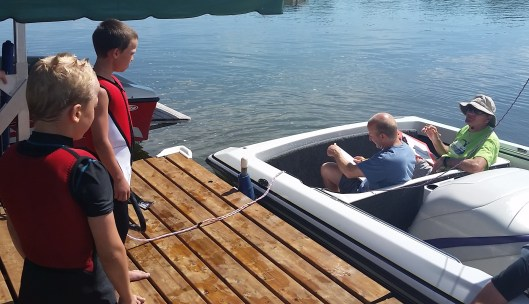 New Kids on the Dock heat up the Minnesota State Barefoot Tournament