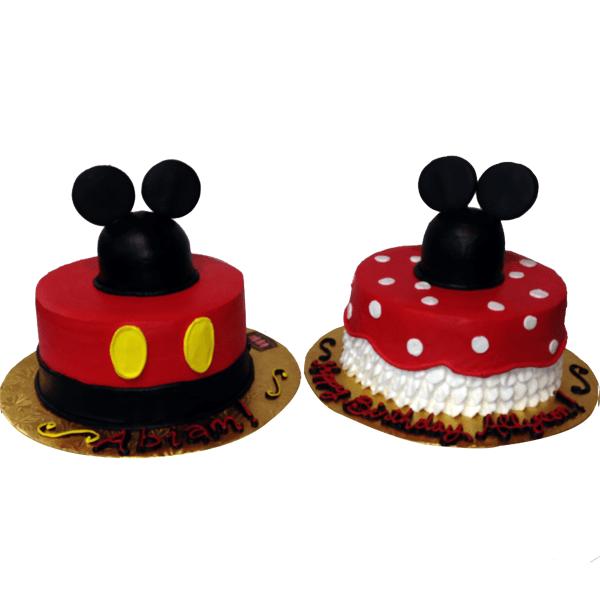 1377 Mickey Minnie Mouse Cake Abc Cake Shop Bakery