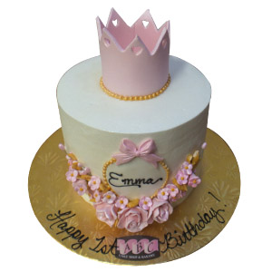 2374 1st Birthday Princess Cake Abc Cake Shop Bakery