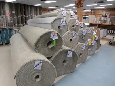 Rolls of Carpet