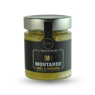 Moutarde Miel et Romarin ABC Culinaire