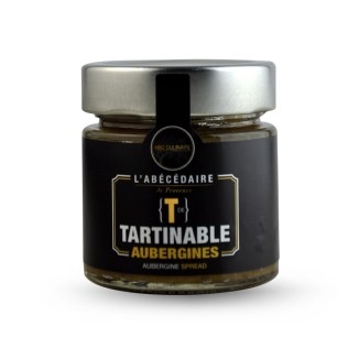 Tartinable aubergines ABC Culinaire