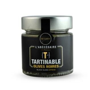 Tartinable olives noires ABC Culinaire