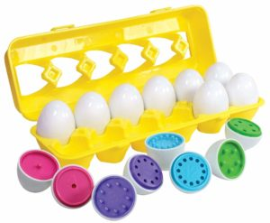 Color matching and counting egg matching set