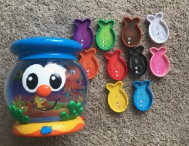 color fun fishbowl color learning toy