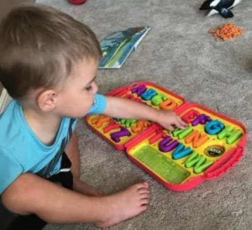 Elmo On the Go Learning Letters