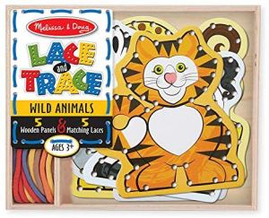 Lacing Card for Kids Travel Toy