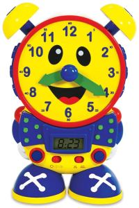 teaching time clock for kids to learn how to tell time
