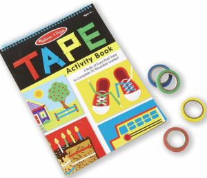 TAPE activity book for toddlers
