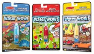Water WOW Melissa and Doug Books Travel